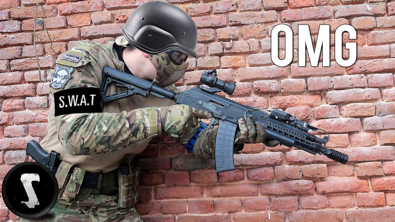 SWAT Officer Plays Airsoft For The First Time And Completely Dominates The Match