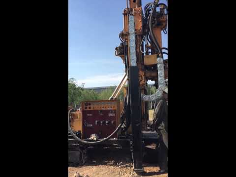 HFW600L water well drilling rig operation video