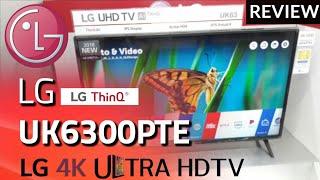 REVIEW LG 4K UK6300PTE LED SMART TV 2018 indonesia HD