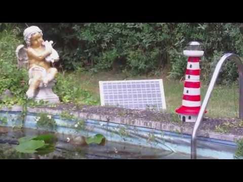 Beton gießen - DIY - Selbst einen Leuchtturm aus Beton gießen - in vorhandenen Kunststoff-formen