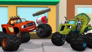Blaze And The Monster Machines S3_The mystery bandit