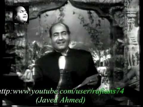 Madhuban Main Radhika - Mohammad Rafi Live With Naushad
