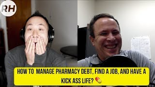 How to escape pharmacy debt and create a kick ass career 💊 | TonyPharmD | Refugee Hustle Podcast