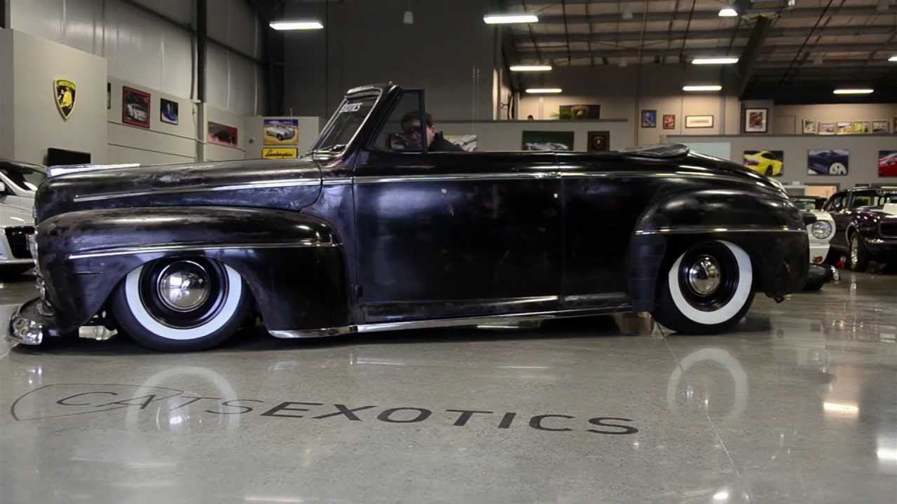 Chevy 350 Transmission >> 1947 Ford Convertible FOR SALE - YouTube