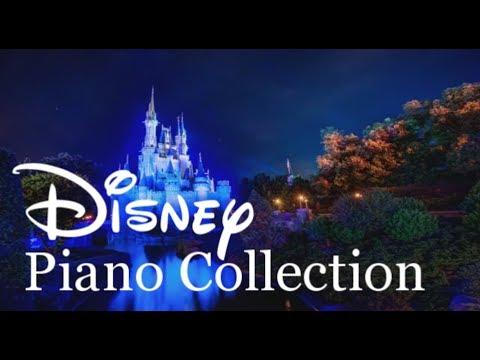 Disney Piano Collection 3 HOUR LONG RELAXING PIANO