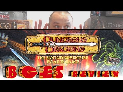 Dungeons & Dragons the board game - How To Play/Review