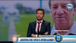 Carlos Bilardo habló de Alemania y Argentina | 90 Minutos de Fútbol (3 de Julio)