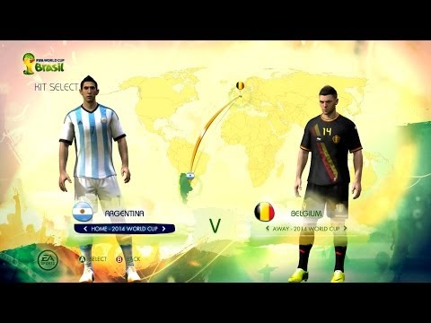 Argentina v Belgium: World Cup simulator