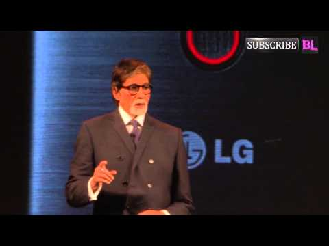 Amitabh Bachchan Launches New Phone By A Popular Brand video
