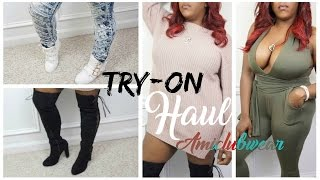 CURVY/THICK GIRL TRY-ON HAUL | ft. AMICLUBWEAR |  SHAY AMOUR