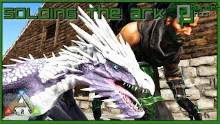 Soloing the Ark S4E180 - EASY WAY TO GET WYVERN MILK! ICE WYVERN HATCHING!