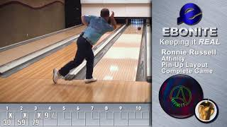 Ebonite Affinity | Ronnie Russell Complete Game