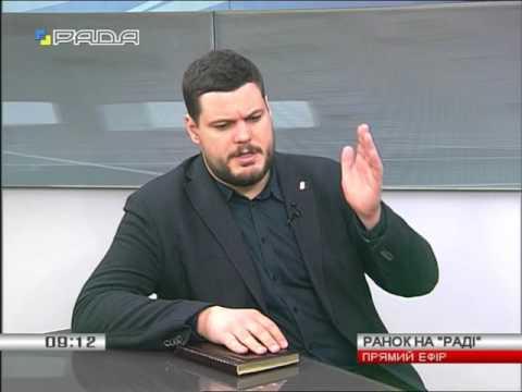 """Андрій Іллєнко - в етері телеканалу """"Рада"""""""