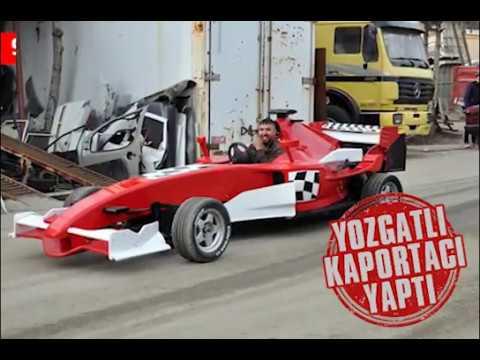 Yozgatlı kaportacı F1 aracı yaptı. 9 bine maletti, 170 km/s hıza çıkıyor