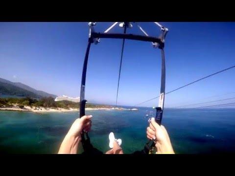 Haiti's Dragon's Breath Zip Line - Worlds longest zip line over water!