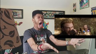 MARVEL STUDIOS' AVENGERS: INFINITY WAR - OFFICIAL TRAILER 2 -- (REACTION!!!) THIS WAS GODLY!!!!!