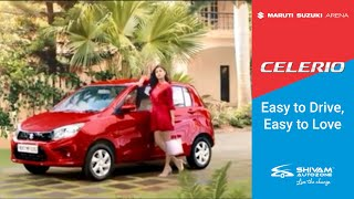 Maruti Suzuki Celerio – Easy to Drive, Easy to Love | Shivam Autozone