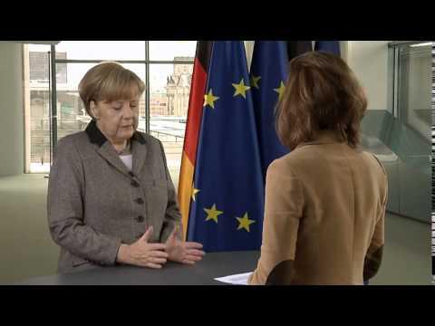 Kanzlerin Dr. Angela Merkel CDU zum Freihandelsabkommen USA EU TTIP und Europa vor großen Aufgaben