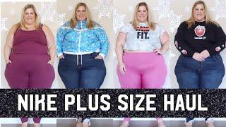 Nike Plus Size Haul: Streetwear, Leggings, Jumpsuits, Sports Bras + More