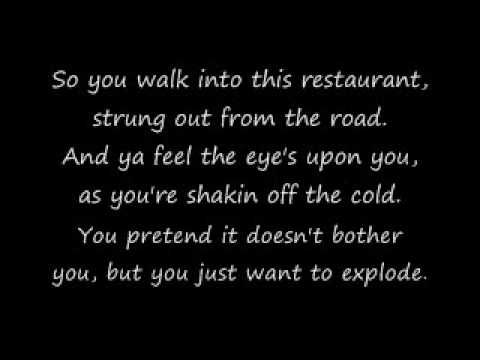 Metallica - Turn The Page Lyrics video