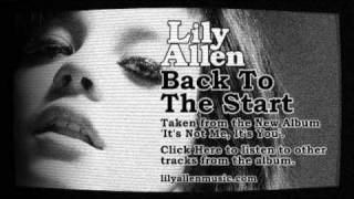 Watch Lily Allen Back To The Start video