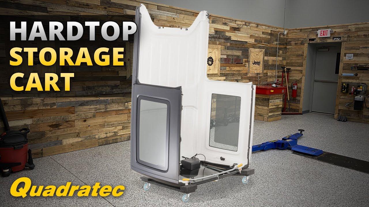 Deluxe Heavy Duty Hardtop Storage Cart For Jeep Wrangler