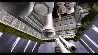 GoldenEye 007 (N64) 100% walkthrough - Mission 8, Part 1: Aztec Complex, Teotihuaca'n