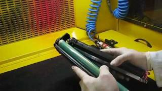 How to refill HP CB540A & CB541A & CB542A & CB543A Toner Cartridges