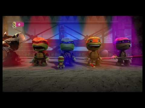 LBP3 Teenage Mutant Ninja Turtles Costume Pack Review