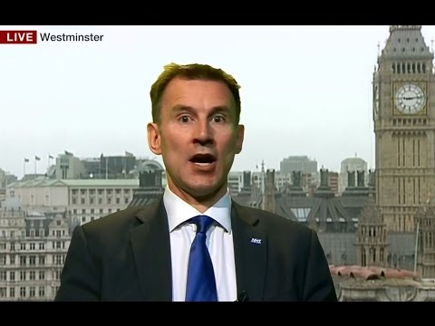 Jeremy Hunt Is Clueless About NHS Funding