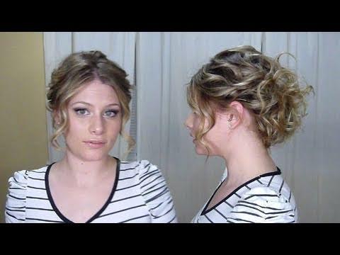 Holiday Hair Style #2 : Eva Longoria Inspired - YouTube