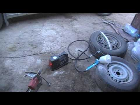 Краскопульт своими руками от автомобильного компрессора