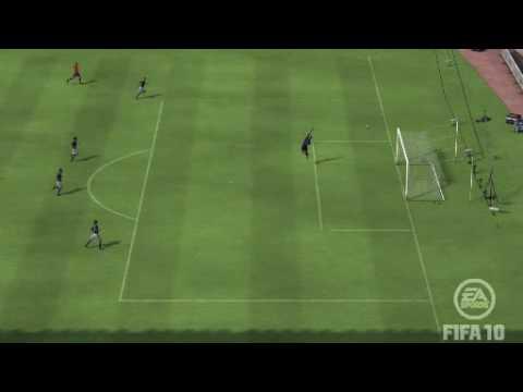 Fifa 10 - Fabregas amazing goal!