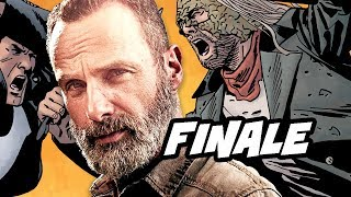 Walking Dead Season 9 Episode 8 Whisperers Finale Easter Eggs