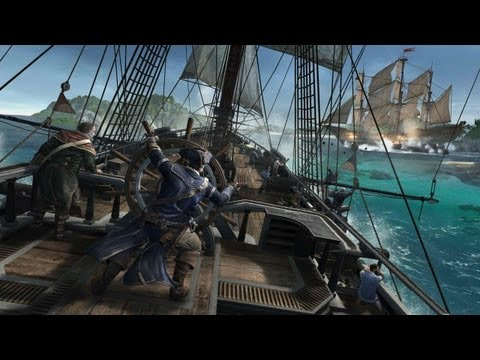 Assassin's Creed III Gameplay PC Velejando com o Navio