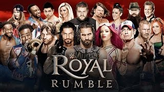 Royal Rumble 2017 Full Show HD WWE Royal Rumble Full Match 30 Man Roman Brock Goldberg Cena Dean