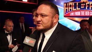 WWE 2K18 Superstars Talk Kurt Angle at WWE Hall of Fame 2017