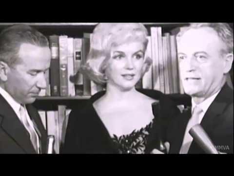 Marilyn Monroe Rare Footage - Press Conference. The David Di Donatello Award 1959 video