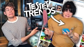 MEINE OMA TESTET YOUTUBE TRENDS | Joey's Jungle