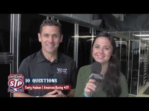 World of Outlaws STP Sprint Car Series 10 Questions with Kerry Madsen