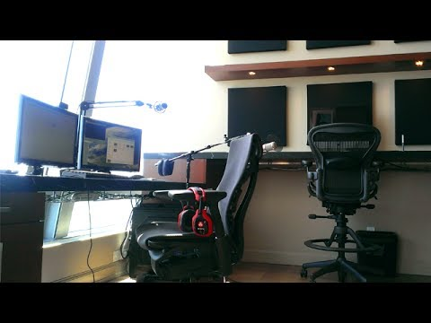 DAT NEW DESK SETUP VIDEO