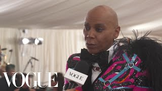RuPaul on His Met Gala DJ Set | Met Gala 2019 With Liza Koshy | Vogue