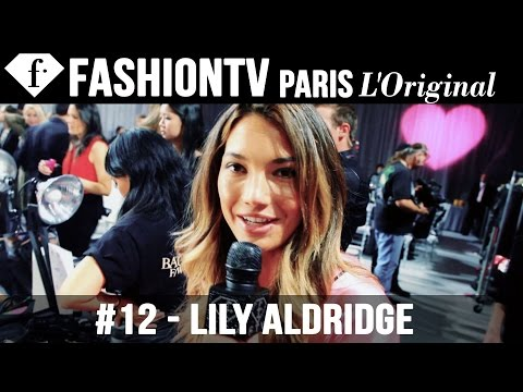 Victoria's Secret Fashion Show 2012 2013 Backstage with Doutzen Kroes, Lily Aldridge | FashionTV
