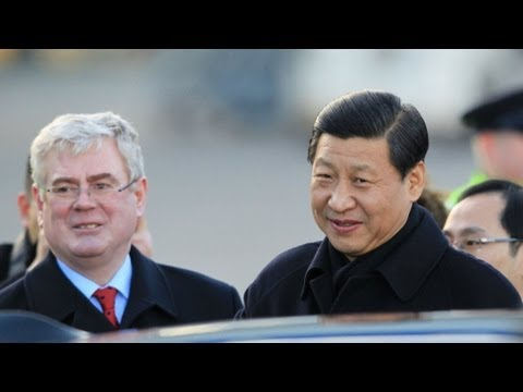 Chinese Vice Presidnet Xi Jinping in Ireland: Day One