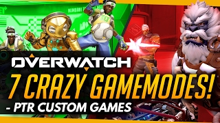 Overwatch | 7 CRAZY Gamesmodes You Need To Play (Custom Games)