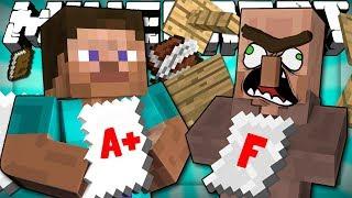 When Minecraft Players Go To School