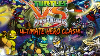Power Rangers vs Ninja Turtles! LEGENDARY WAR