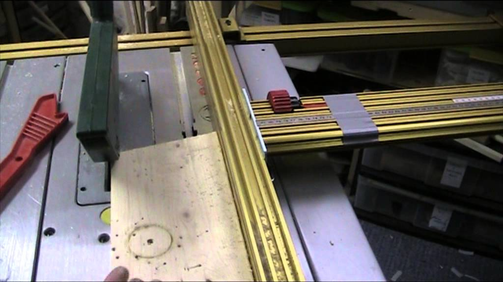 part 15 fitting the incra table saw fence to a bosch pts 10 youtube. Black Bedroom Furniture Sets. Home Design Ideas