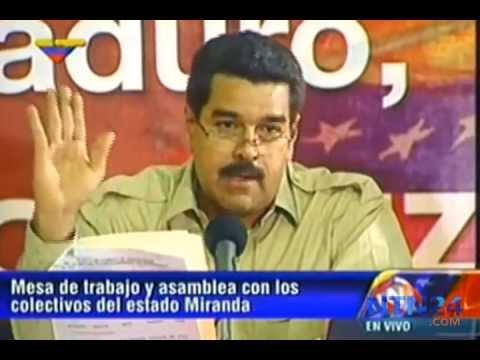 Así reaccionó Maduro ante la crítica de una líder comunal chavista