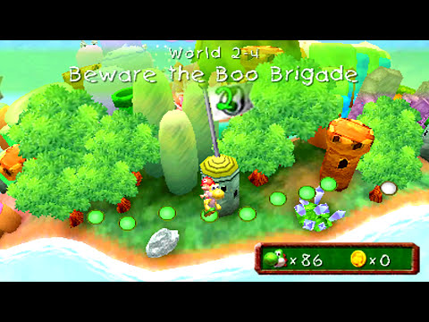 Yoshi's New Island 3DS - (1080p) - Part 3 - World 2 (1/2)